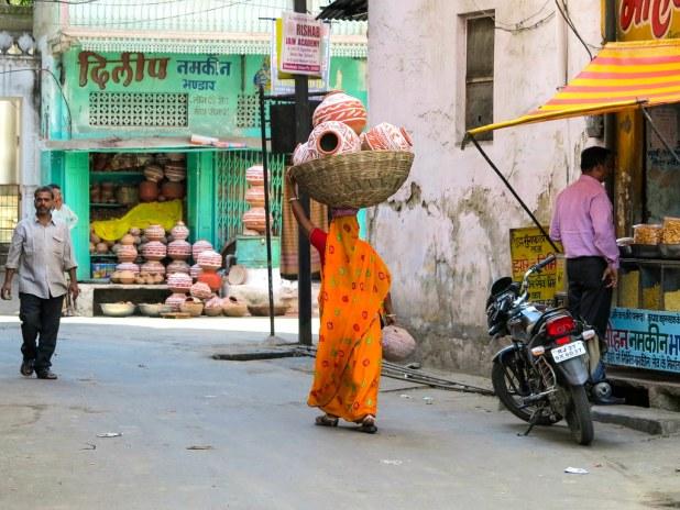 Ruta a pie por Udaipur