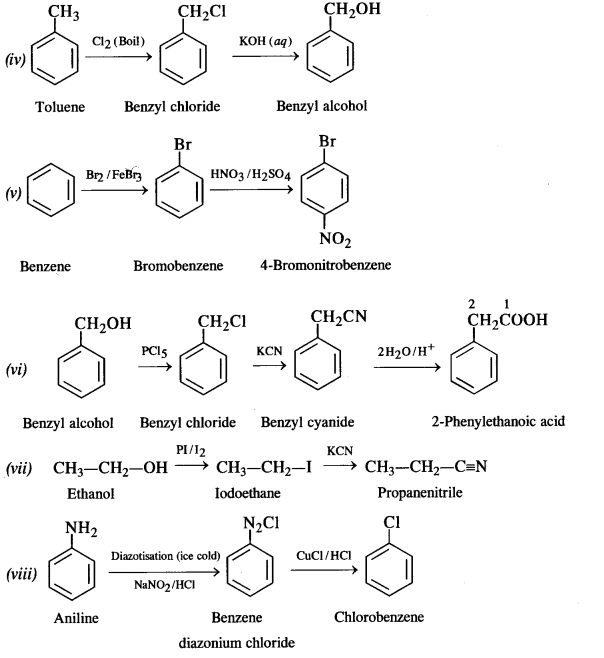 NCERT Solutions for Class 12 Chemistry Chapter 10 Haloalkanes and
