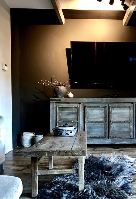 tv-meubel landelijk stoer