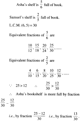 NCERT Solutions for Class 6 Maths Chapter 7 Fractions 0116