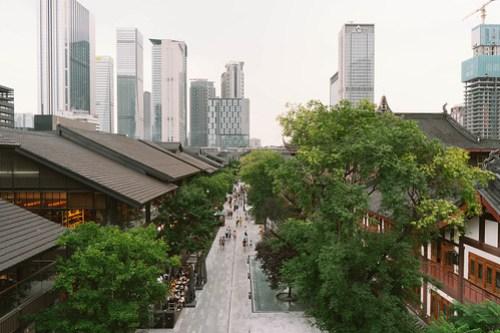 From Muji terrace in Taikooli @ Chengdu, SIchuan