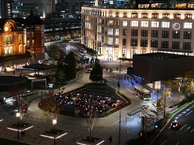 taxi lights like Christmas light