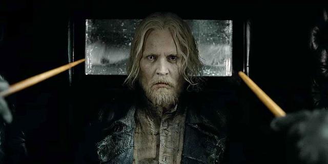 Johnny Depp Grindelwald