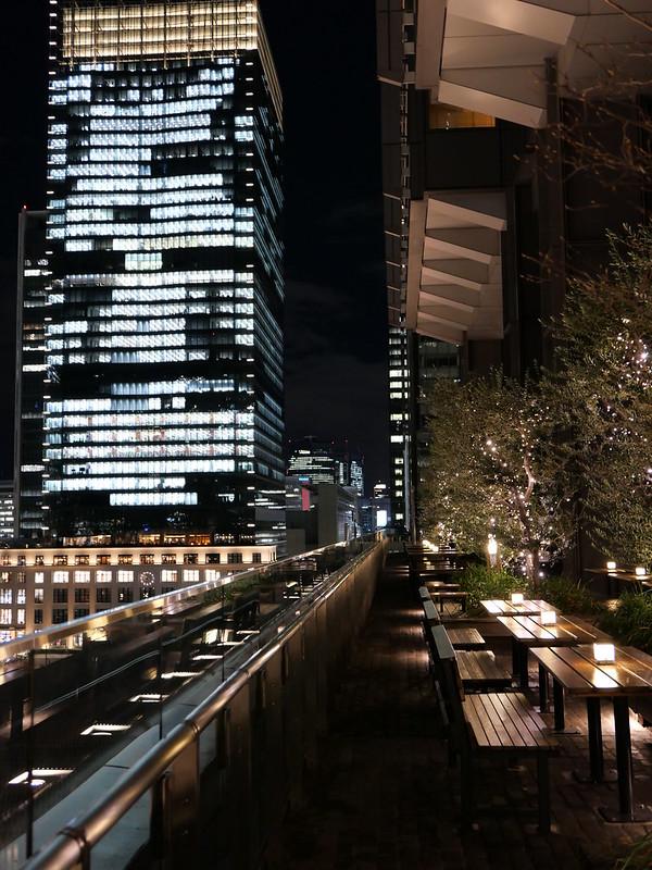 night view from Shin-marunouchi building