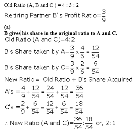 TS Grewal Accountancy Class 12 Solutions Chapter 5 Retirement Death of a Partner Q16