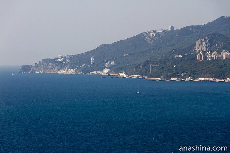 Вид в сторону мыса Ай-Тодор, Крым