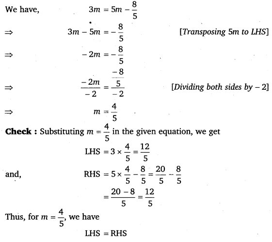 NCERT Solutions for Class 8 Maths Chapter 2 Linear Equations In One Variable 42
