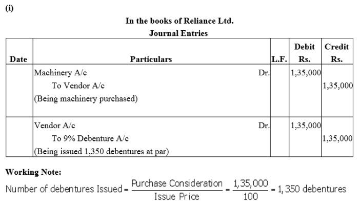 TS Grewal Accountancy Class 12 Solutions Chapter 9 Issue of Debentures Q16