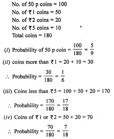 RD Sharma Class 10 Solutions Chapter 16 Probability Ex 16.1 47