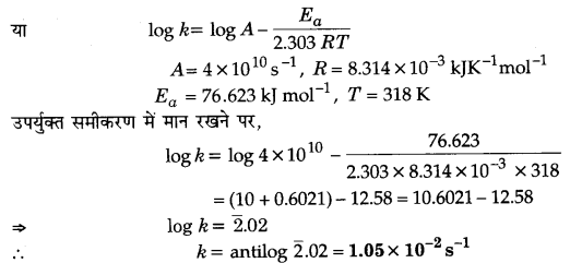 UP Board Solutions for Class 12 Chapter 4 Chemical Kinetics 2Q.29.3