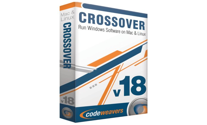 CrossOver 18.0 full license