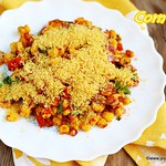 Spicy corn chaat recipe