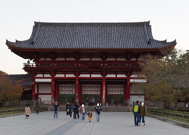 東大寺 外の門