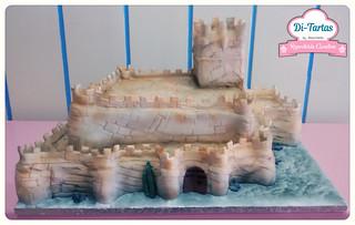 tarta boda medieval castillo de villena copia 2