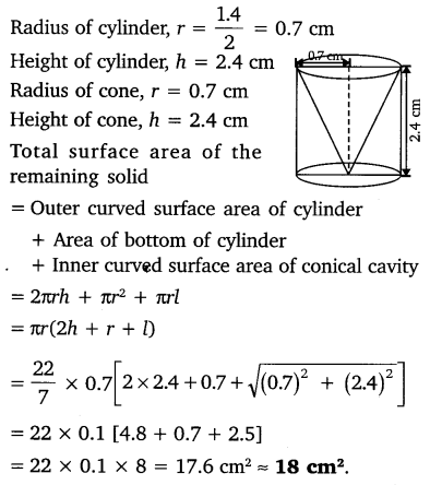 study rankers class 10 maths Chapter 13 Surface Areas and Volumes 9