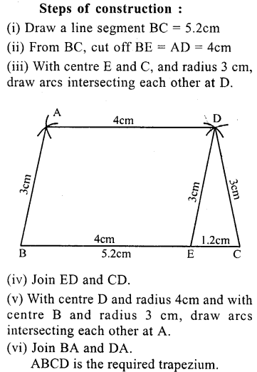 ML Aggarwal Class 9 Solutions for ICSE Maths Chapter 13 Rectilinear Figures  ex 2  5