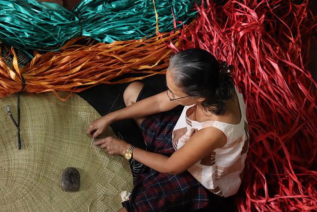 Banig (Mat) Weaving in Basey