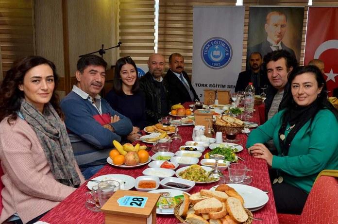 Türk Eğitim Sen Alanya basınıyla buluştu