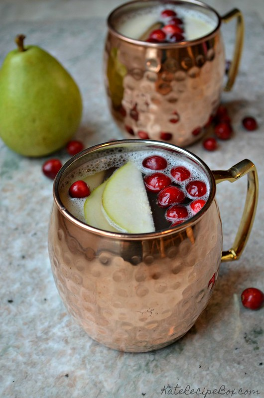 Cranberry Pear Mock Mules