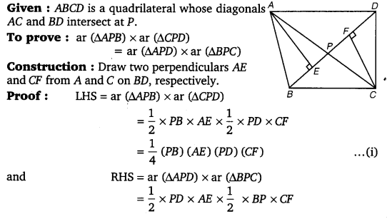 NCERT Solutions for Class 9 Maths Chapter 9 Area of parallelograms and Triangles 45