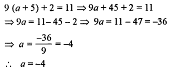 Selina Concise Mathematics class 7 ICSE Solutions - Simple Linear Equations (Including Word Problems) -b14