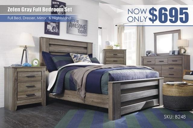 Zelen Full Bedroom Set_B248-87-MOOD-A