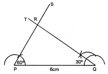 Selina Concise Mathematics Class 6 ICSE Solutions - Triangles (Including Types, Properties and Constructions) -7