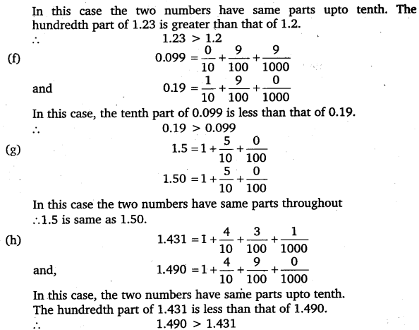 NCERT Solutions for Class 6 Maths Chapter 8 Decimals 32