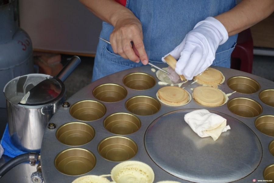 小燕姊紅豆餅,延平公園,排隊點心,桃園後站,桃園美食,銅板美食 @VIVIYU小世界