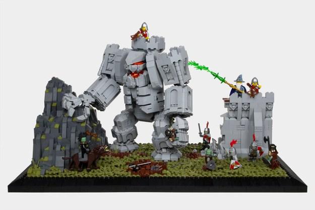LEGO Wizard Castle Wall Magic
