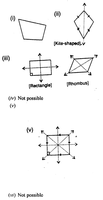 Selina Concise Mathematics class 7 ICSE Solutions - Symmetry (Including Reflection and Rotation) -a5