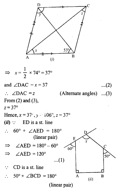 ML Aggarwal Class 9 Solutions for ICSE Maths Chapter 13 Rectilinear Figures  ct 5b