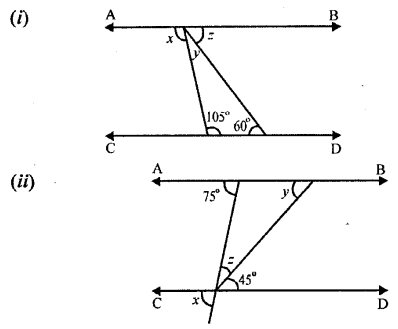 Selina Concise Mathematics Class 6 ICSE Solutions - Properties of Angles and Lines (Including Parallel Lines)-r1