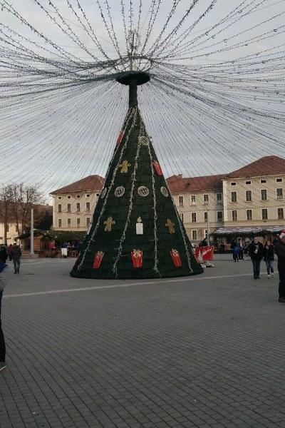 Piața de Crăciun din Alba-Iulia, România