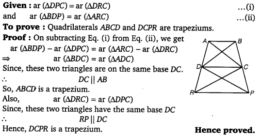 NCERT Solutions for Class 9 Maths Chapter 9 Area of parallelograms and Triangles 33