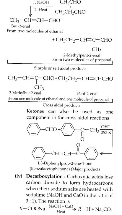 NCERT Solutions for Class 12 Chemistry Chapter 12 Aldehydes, Ketones and Carboxylic Acids e16B