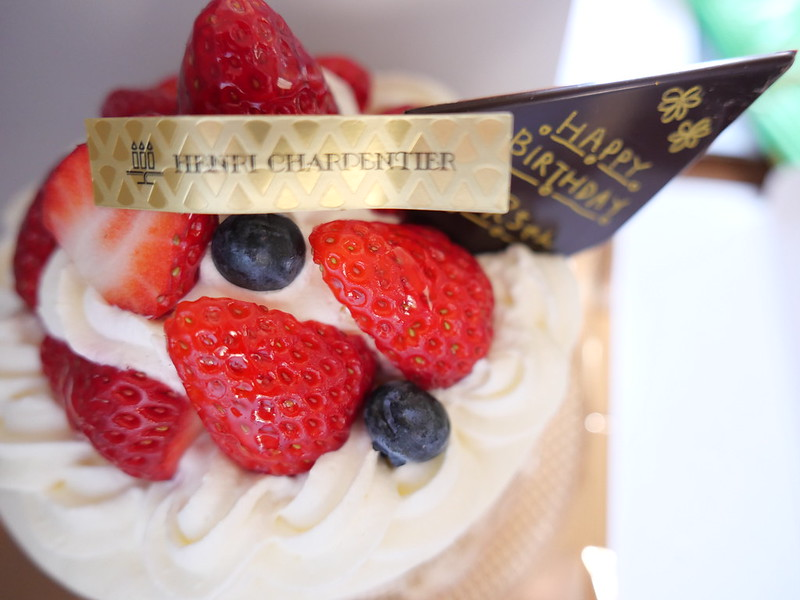 Henri Charpentier birthday cake