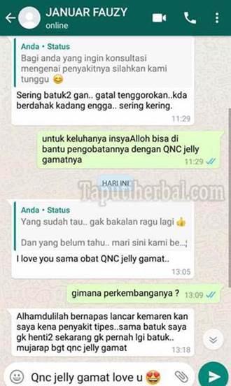 QnC Jelly Gamat terbukti secara empiris