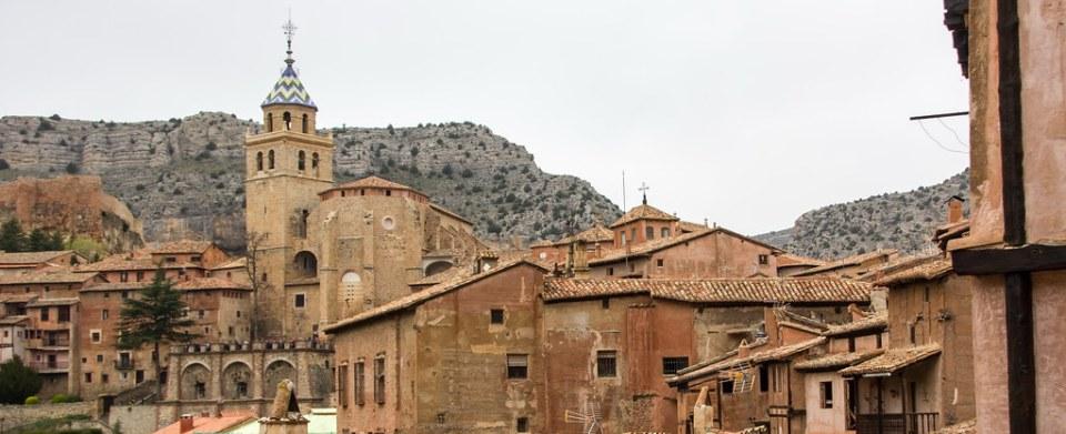 Torre exterior Catedral del Salvador de Albarracin Teruel 01