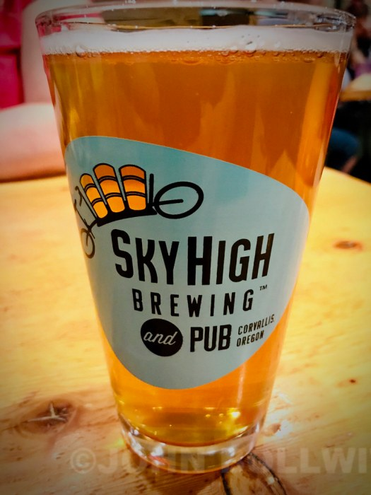 Oregon, November 2018: Sky HIgh Brewing, Corvallis, Oregon