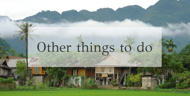 Mai Chau other things to do