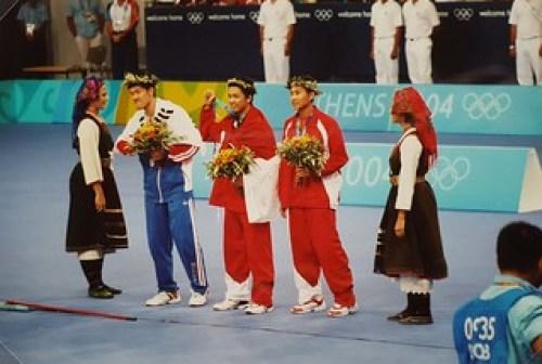 2004 Athènes - Jeux Olympiques - 21/08