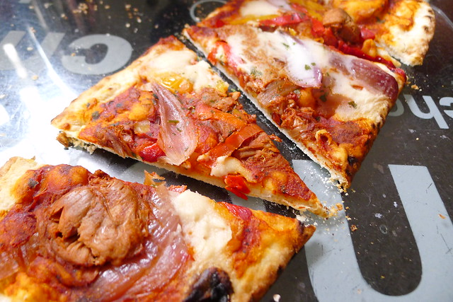 M&S Plant Kitchen barbecue pulled jackfruit pizza