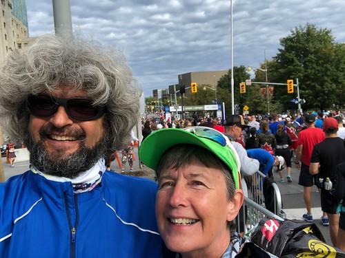 Ottawa - Army Run Selfie before