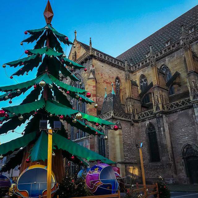 Catedral de San Martin | Qué ver en Colmar en un día | Ruta de un día por Colmar | Colmar en Navidad | ClickTrip.ES
