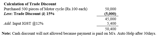 TS Grewal Accountancy Class 11 Solutions Chapter 5 Journal Q20