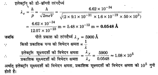 UP Board Solutions for Class 12 Physics Chapter 11 Dual Nature of Radiation and Matter 33a