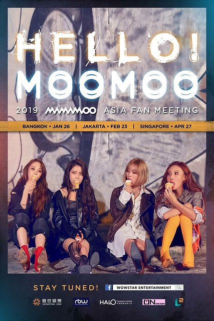 MAMAMOO Asia Fan Meeting in Singapore