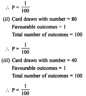 Selina Concise Mathematics class 7 ICSE Solutions - Probability-10a.