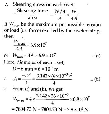 NCERT Solutions for Class 11 Physics Chapter 9 Mechanical properties of solid 24